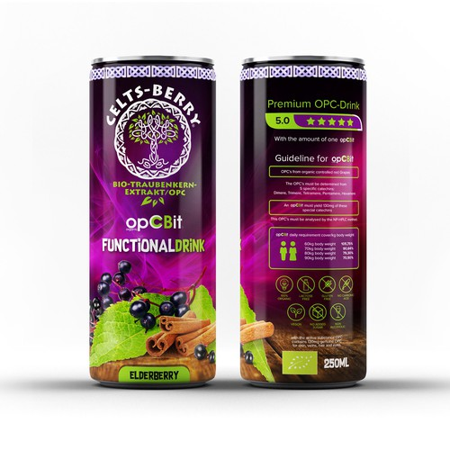Elderberry Can Design