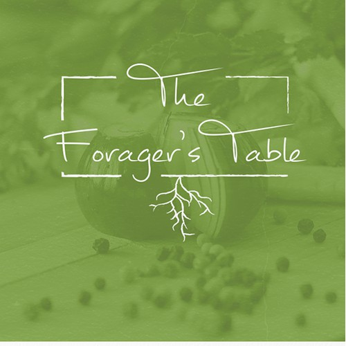 Logo design for The Forager's Table