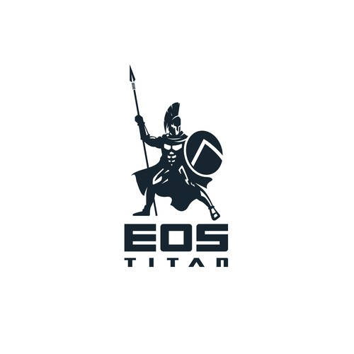 Minimalist Spartan Logo