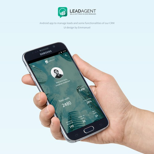 Android App Design for LeadAgent