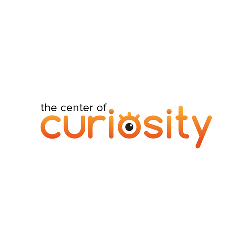 Logo for an innovative platform to think about curiosity for educational and research purposes