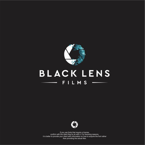 logo for Black Lens Films