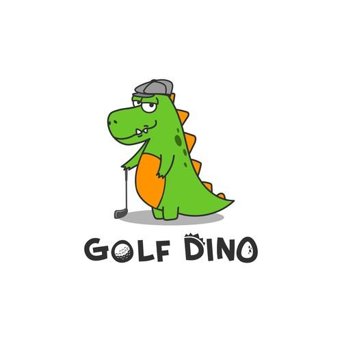 Logo concept Golf simulator sports bar
