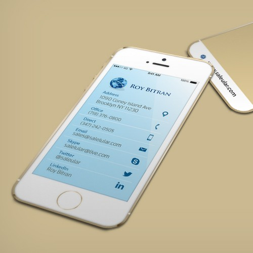 iPhone Business Cards