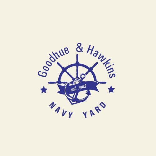 Logo Design for historic, classy MARINA (boat sales and service)