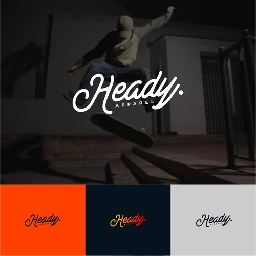 LOGO CONCEPT FOR HEADY