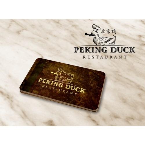 "world famous ""Peking Duck"""