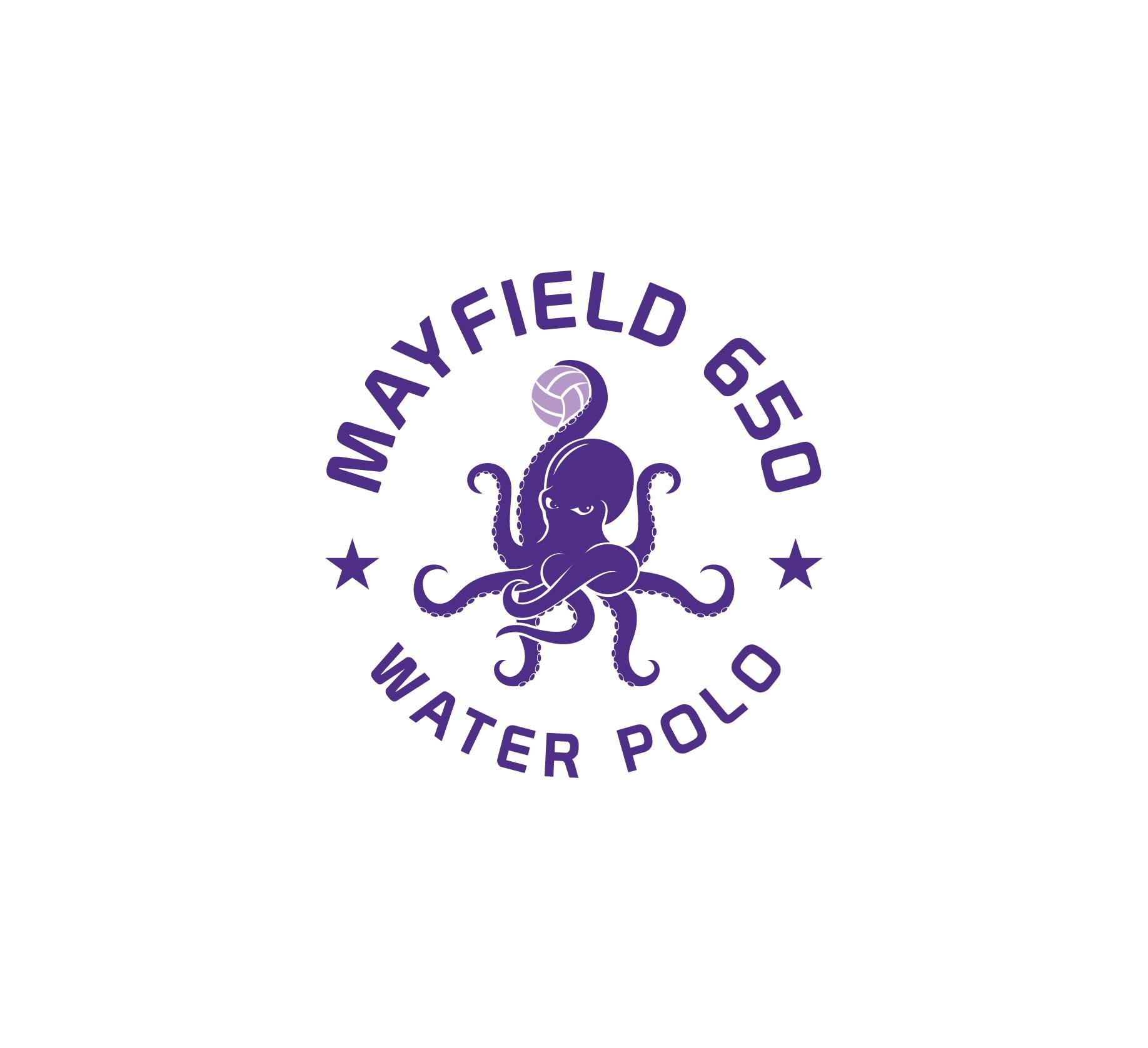 Fun and Fierce Logo for High Energy Teen Water Polo Club