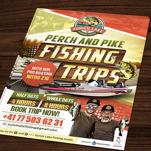 Flyer for a Fishing