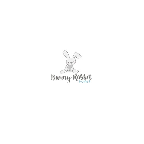 Logo for baby gift store