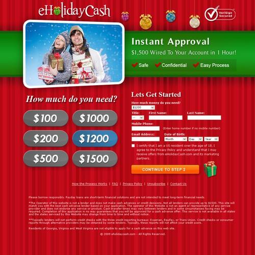 eHoliday Cash Website