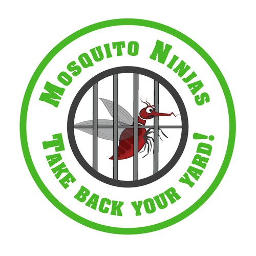 Create a mosquito control logo that grabs your attention