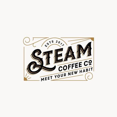 Logo for Steam Coffee Co