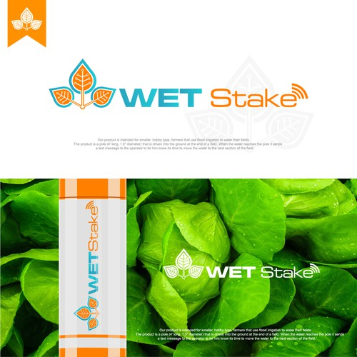 logo concept for wet stake