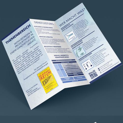 Tri fold brochure for startup