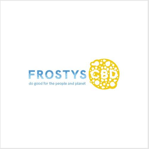 Logo concept for Frostys CBD