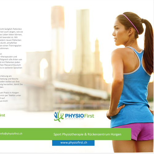 Brochure for Physiotherapy