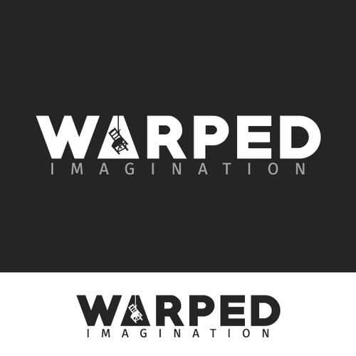 Logo for an Indie Games Company: Warped Imagination