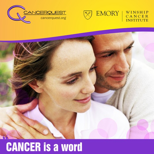 CancerQuest Wants a Patient Friendly Brochure Design