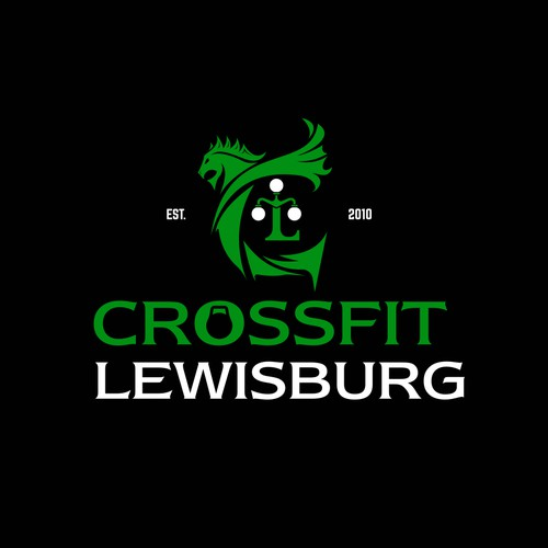 lil Dragon Forming C and the Lewisburg Lantern Forming thee L for Crossfit Lewisburg...