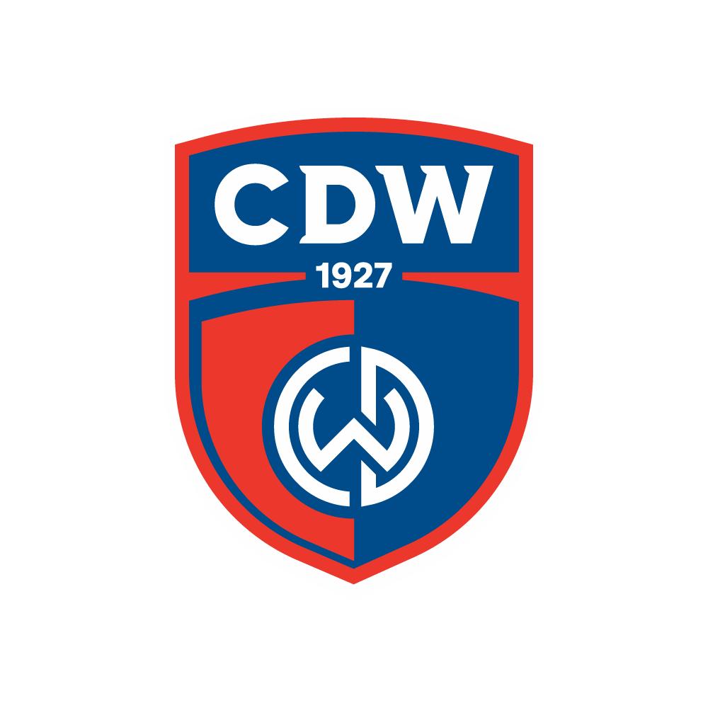 Rebranding logo voetbalclub CDW