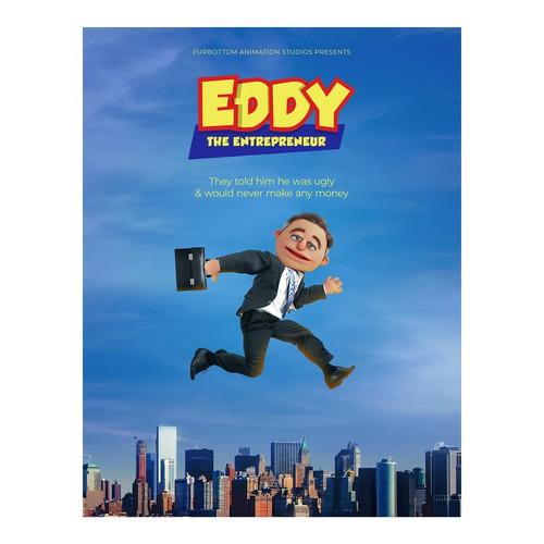 Pixar Comedy Style Movie Poster