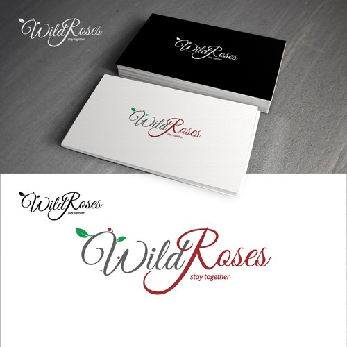 "New logo for ""Wild Roses"""