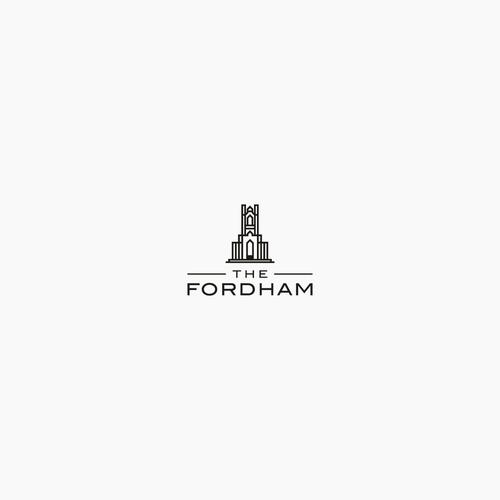 Minimalist Logo for The Fordham