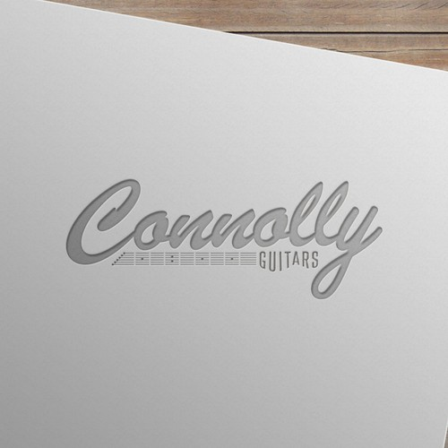Logo Concept for Connolly Guitars