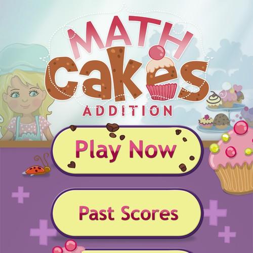 Math Cakes App Design
