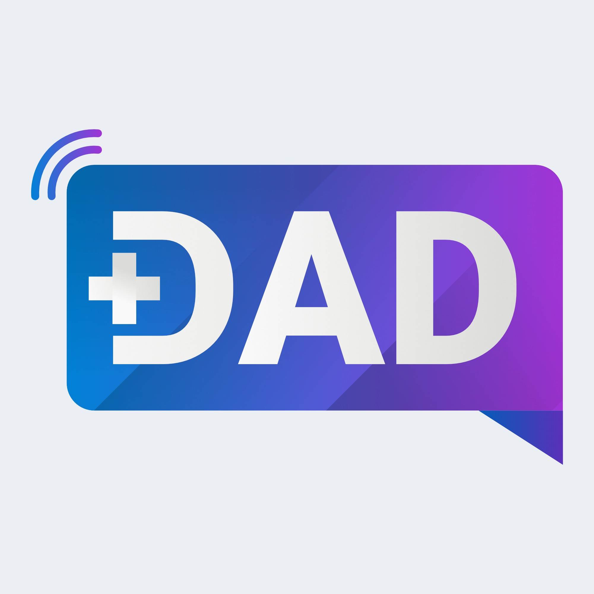 Create a logo for a new podcast for dads!