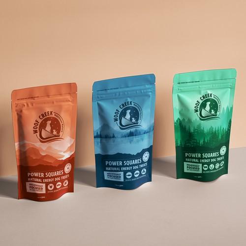 Woof Creek packaging design