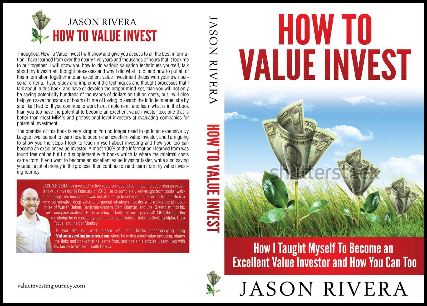 Value Investing Journey needs a new book or magazine cover