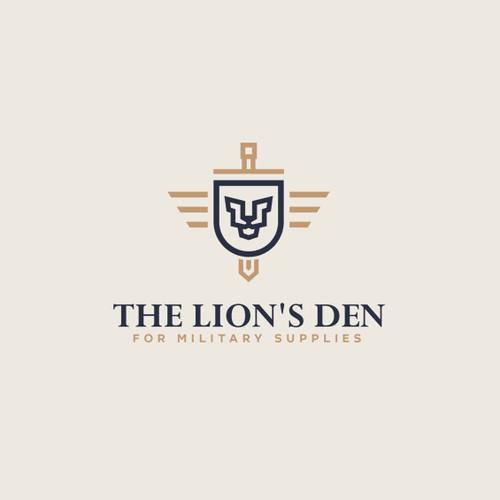 Thr lion's Den logo