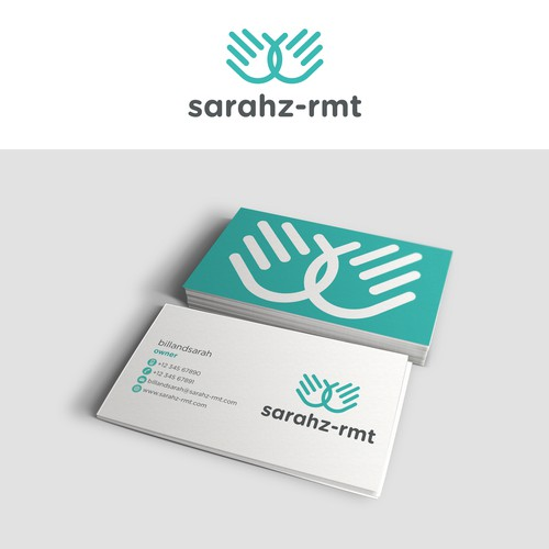 Simple logo for massage business