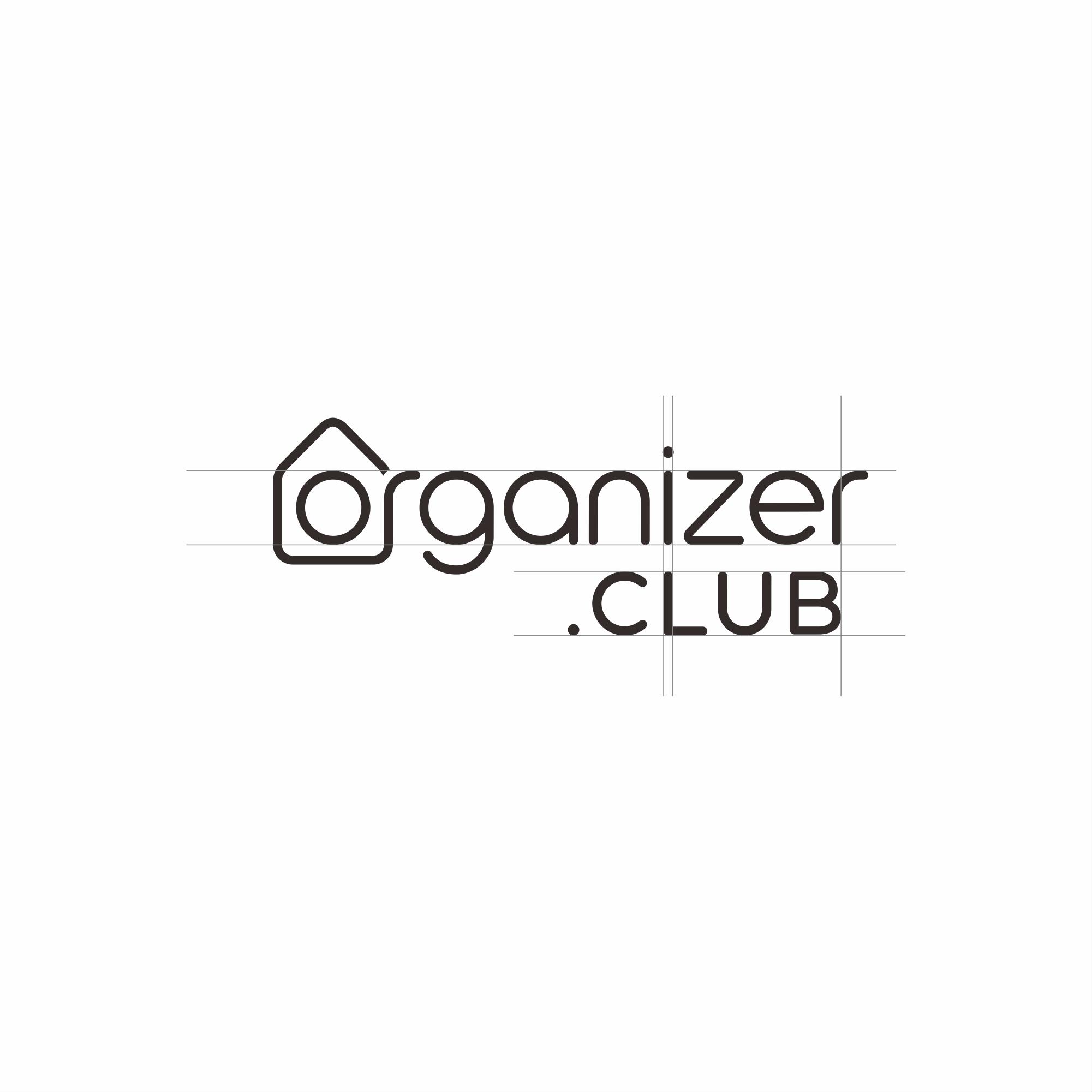Organizer.Club needs a clean, simple, and modern logo