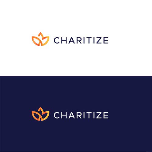 Bold logo for Charitize