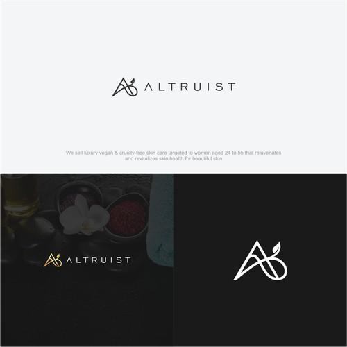 minimalist letter A