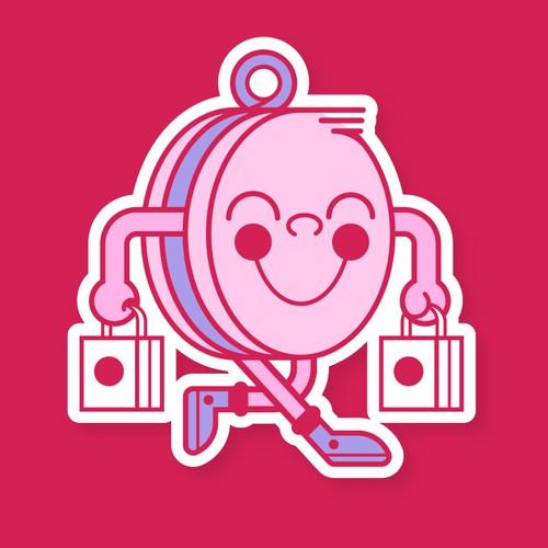 Logo concept for Yippee Yoyo