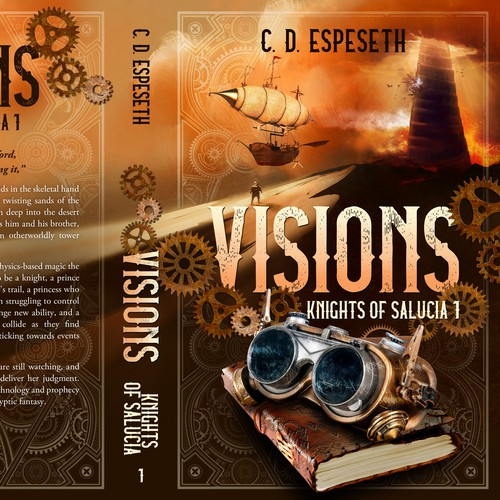 Visions - Steampunk fantasy novel
