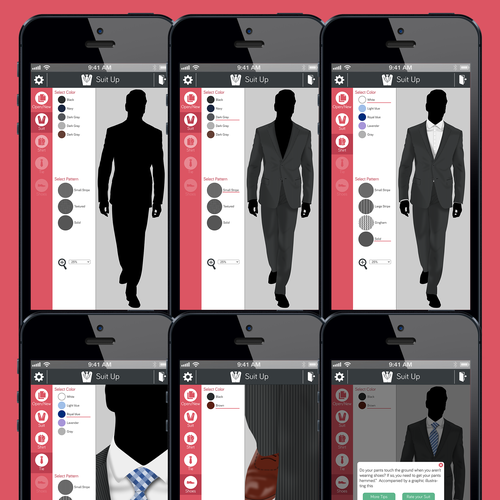 Suit Up needs a new App design!
