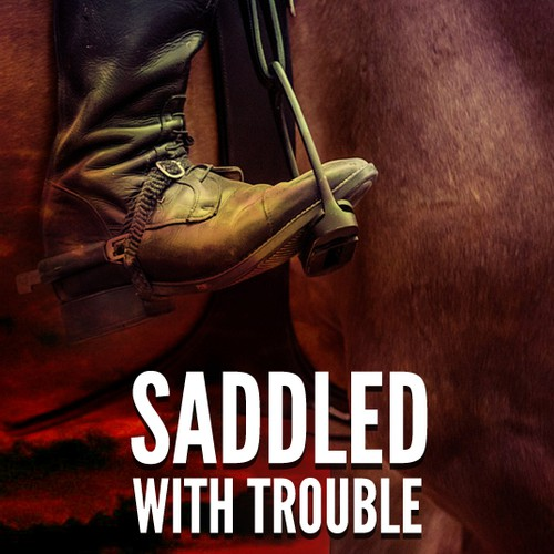 Saddled with Trouble - book cover