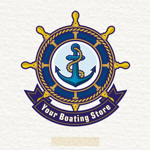 Boating Store Logo For Ecommerce Sit