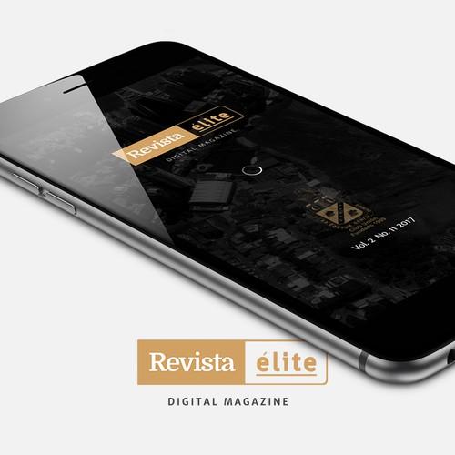Digital magazine for a modern Country Club