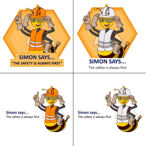 Simon the Safety Bee
