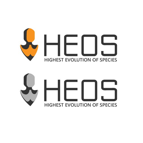 Design an iconic logo for The HEOS - Highest Evolution of Species