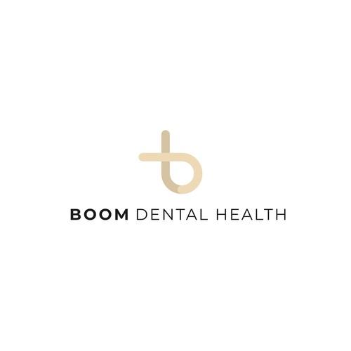Bold logo for dental office