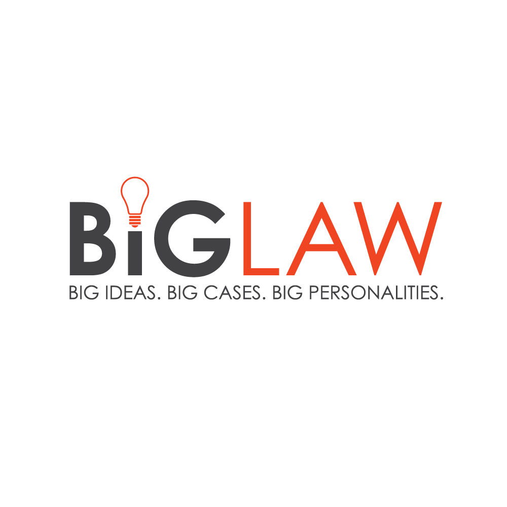 """Fresh modern branding for podcast about """"Big ideas"""" in law and business"""