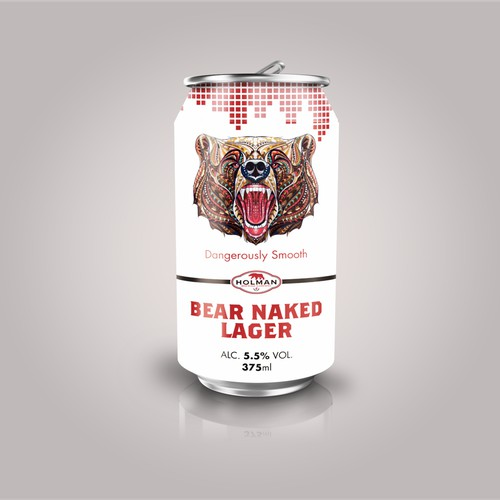 Holman Bear Naked Lager