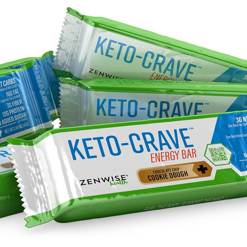 Energy Bar 3D Image for Zenwise Health